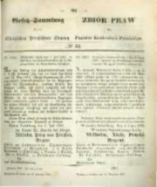 Gesetz-Sammlung für die Königlichen Preussischen Staaten. 1859.09.13 No33