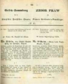 Gesetz-Sammlung für die Königlichen Preussischen Staaten. 1859.11.05 No41