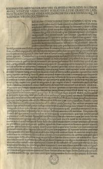 De antiquitate Iudaica; De bello Iudaico, Lat. Trad. Rufinus Aquileiensis. Ed. Hieronymus Squarzaficus