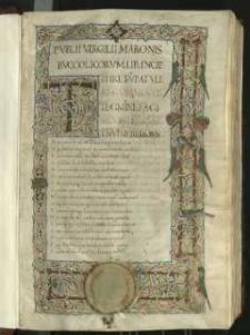 Publii Virgilii Maronis Bvccolicorum lib[er] incipit