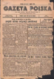 Gazeta Polska: codzienne pismo polsko-katolickie dla wszystkich stanów 1936.01.14 R.40 Nr10