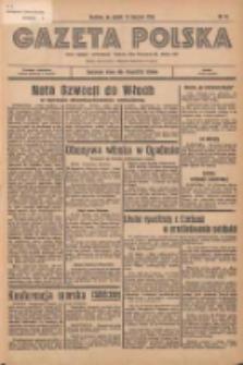 Gazeta Polska: codzienne pismo polsko-katolickie dla wszystkich stanów 1936.01.17 R.40 Nr13