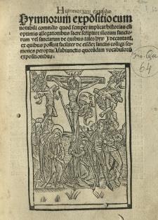 Expositio hymnorum