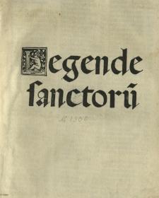 Legende sanctorū