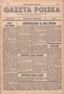 Gazeta Polska: codzienne pismo polsko-katolickie dla wszystkich stanów 1936.01.18 R.40 Nr14