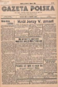 Gazeta Polska: codzienne pismo polsko-katolickie dla wszystkich stanów 1936.01.22 R.40 Nr17