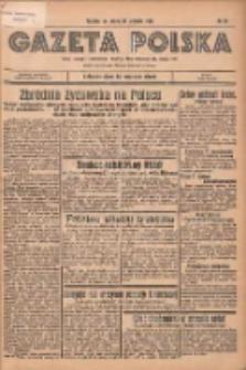 Gazeta Polska: codzienne pismo polsko-katolickie dla wszystkich stanów 1936.01.25 R.40 Nr20
