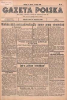 Gazeta Polska: codzienne pismo polsko-katolickie dla wszystkich stanów 1936.02.11 R.40 Nr34
