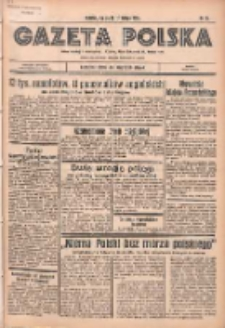Gazeta Polska: codzienne pismo polsko-katolickie dla wszystkich stanów 1936.02.12 R.40 Nr35