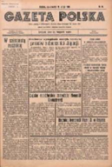 Gazeta Polska: codzienne pismo polsko-katolickie dla wszystkich stanów 1936.02.13 R.40 Nr36