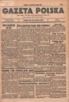 Gazeta Polska: codzienne pismo polsko-katolickie dla wszystkich stanów 1936.02.25 R.40 Nr46