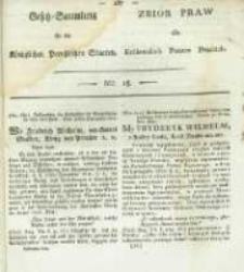 Gesetz-Sammlung für die Königlichen Preussischen Staaten. 1820 No18
