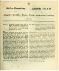 Gesetz-Sammlung für die Königlichen Preussischen Staaten. 1862.05.24 No18