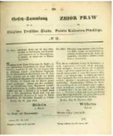 Gesetz-Sammlung für die Königlichen Preussischen Staaten. 1862.06.30 No21