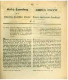 Gesetz-Sammlung für die Königlichen Preussischen Staaten. 1862.10.25 No37