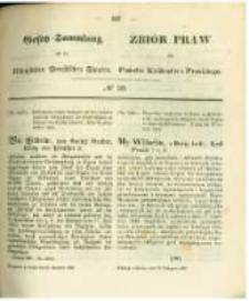 Gesetz-Sammlung für die Königlichen Preussischen Staaten. 1862.11.20 No39