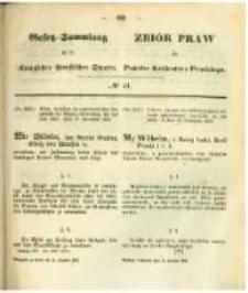 Gesetz-Sammlung für die Königlichen Preussischen Staaten. 1862.12.12 No41