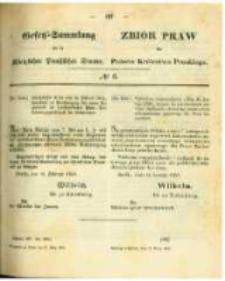 Gesetz-Sammlung für die Königlichen Preussischen Staaten. 1863.03.17 No6