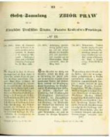 Gesetz-Sammlung für die Königlichen Preussischen Staaten. 1863.05.15 No13