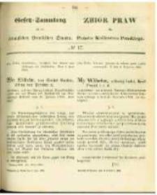 Gesetz-Sammlung für die Königlichen Preussischen Staaten. 1863.06.03 No17