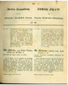 Gesetz-Sammlung für die Königlichen Preussischen Staaten. 1863.06.26 No20