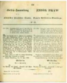 Gesetz-Sammlung für die Königlichen Preussischen Staaten. 1863.06.30 No22