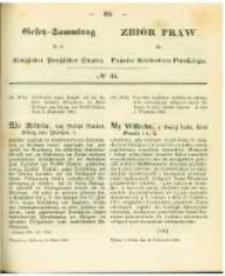 Gesetz-Sammlung für die Königlichen Preussischen Staaten. 1863.10.16 No34