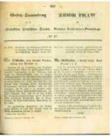 Gesetz-Sammlung für die Königlichen Preussischen Staaten. 1863.11.02 No37
