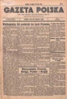 Gazeta Polska: codzienne pismo polsko-katolickie dla wszystkich stanów 1936.03.20 R.40 Nr67