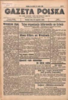 Gazeta Polska: codzienne pismo polsko-katolickie dla wszystkich stanów 1936.03.24 R.40 Nr70