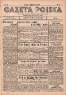 Gazeta Polska: codzienne pismo polsko-katolickie dla wszystkich stanów 1936.05.29 R.40 Nr126