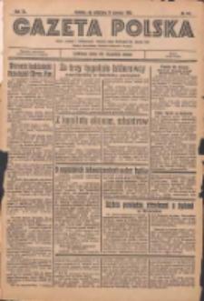 Gazeta Polska: codzienne pismo polsko-katolickie dla wszystkich stanów 1936.06.21 R.40 Nr144