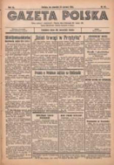 Gazeta Polska: codzienne pismo polsko-katolickie dla wszystkich stanów 1936.06.25 R.40 Nr147