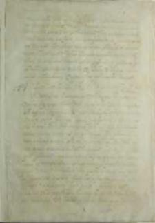 Fragment końcowy listu, b.m. XVI w.