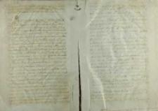 List Andrzeja Krzyckiego, biskupa płockiego do króla Zygmunta I, Pułtusk 03.04.1527