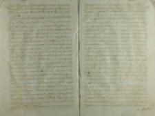 Odpis listu biskupa przemyskiego, Kraków 20.12.1525