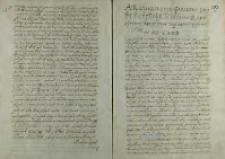 List kardynała Stanisława Hozjusza do Jakuba Uchańskiego arcybiskupa gnieźnieńskiego, Rzym 21.03.1573