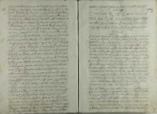 List kardynała Stanisława Hozjusza w sprawie przysięgi Henryka Walezego w Paryżu, Rzym ok. 1573