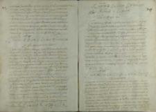 List króla Henryka Walezego do Jana Tęczyńskiego kasztelana wojnickiego, Kraków 18.06.1574