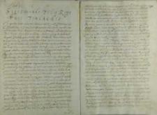 List kardynała Stanisława Hozjusza do Zygmunta królewicza szweckiego, Rzym 24.01.1574