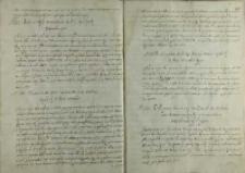 List Henryka de Spaer posła szwedzkiego do Andrzeja Opalińskiego, 1587