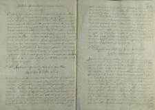 Odpowiedz Andrzeja Opalińskiego na list arcyksięcia Maksymiliana, 1587