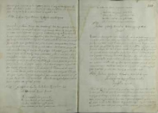 List Andrzeja Opalińskiego do Andreasa Jerina biskupa wrocławskiego, Środa 1587
