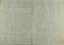 Odpowiedz cesarza Rudolfa II na poselstwo Ostroroga, 16.04.1589