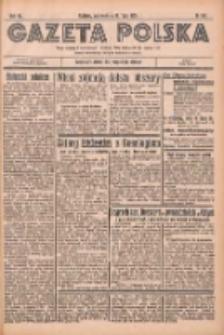 Gazeta Polska: codzienne pismo polsko-katolickie dla wszystkich stanów 1936.07.19 R.40 Nr167