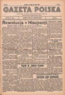 Gazeta Polska: codzienne pismo polsko-katolickie dla wszystkich stanów 1936.07.22 R.40 Nr169