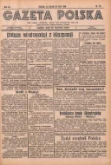 Gazeta Polska: codzienne pismo polsko-katolickie dla wszystkich stanów 1936.07.25 R.40 Nr172
