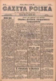 Gazeta Polska: codzienne pismo polsko-katolickie dla wszystkich stanów 1936.08.08 R.40 Nr184