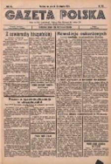 Gazeta Polska: codzienne pismo polsko-katolickie dla wszystkich stanów 1936.08.25 R.XL Nr197