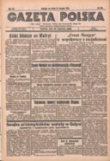Gazeta Polska: codzienne pismo polsko-katolickie dla wszystkich stanów 1936.08.26 R.40 Nr198